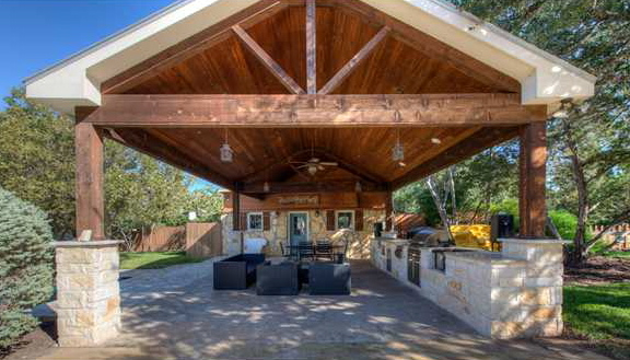 Lake Travis Vacation Home on Covered Outdoor Living Area id=43029